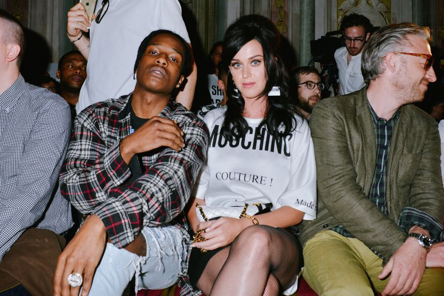 ASAP Rocky at Moschino SS16 Show in Pitti Uomo