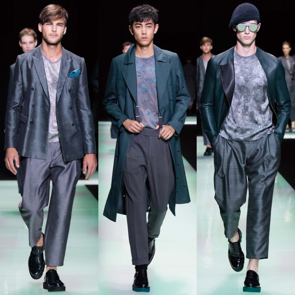 MFW: Emporio Armani Spring/Summer 2016 Collection