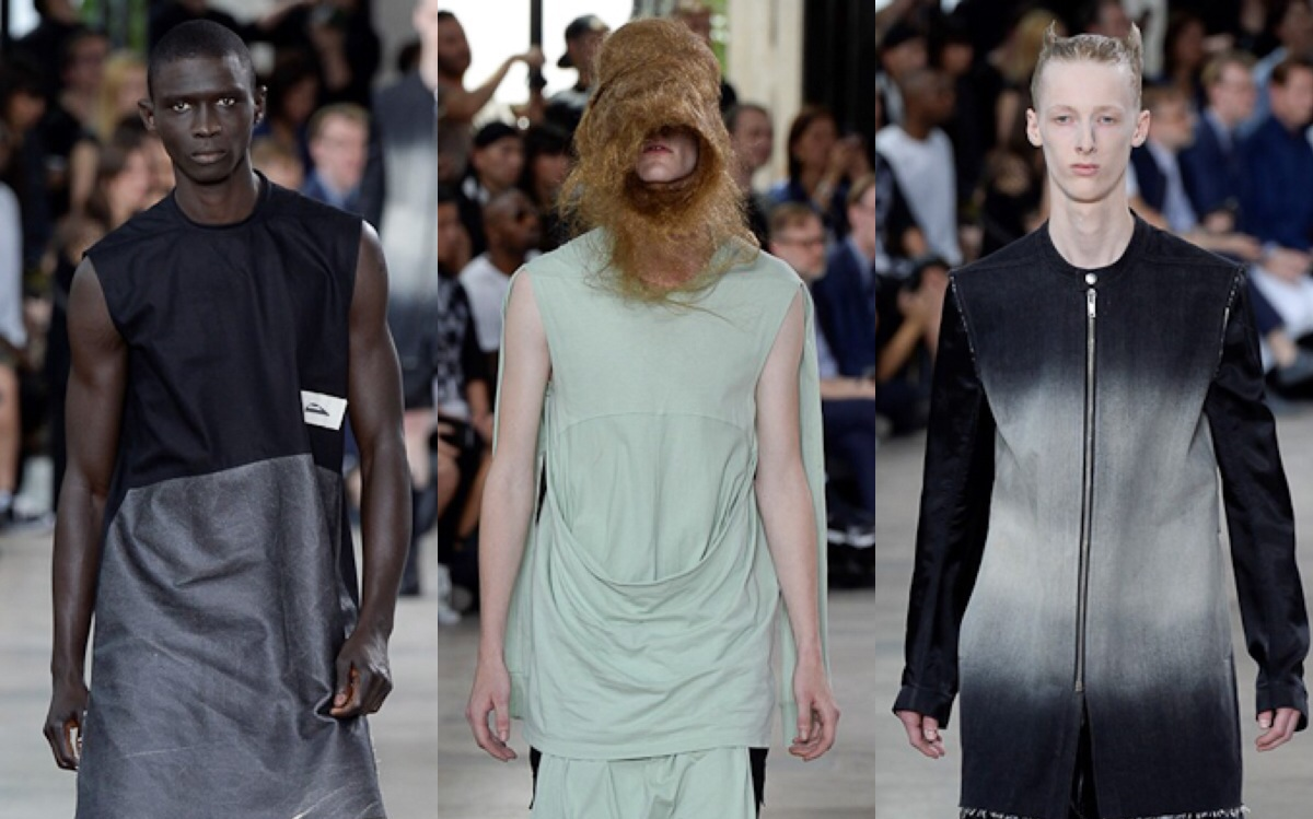 PFW: Rick Owens Spring/Summer 2016 Collection