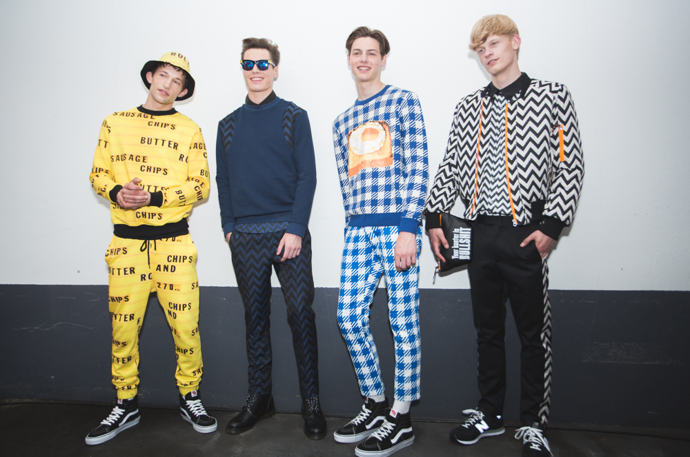 LCM: House of Holland SS16 Presentation (Backstage)