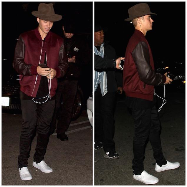 Get The Look: Justin Bieber Spotted in Alexander McQueen