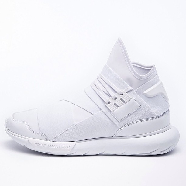 "Take A First Look At Y-3 Qasa High ""Triple White"""