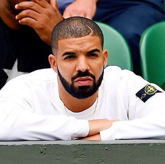 Spotted: Drake Wears Stone Island at Wimbledon 2015