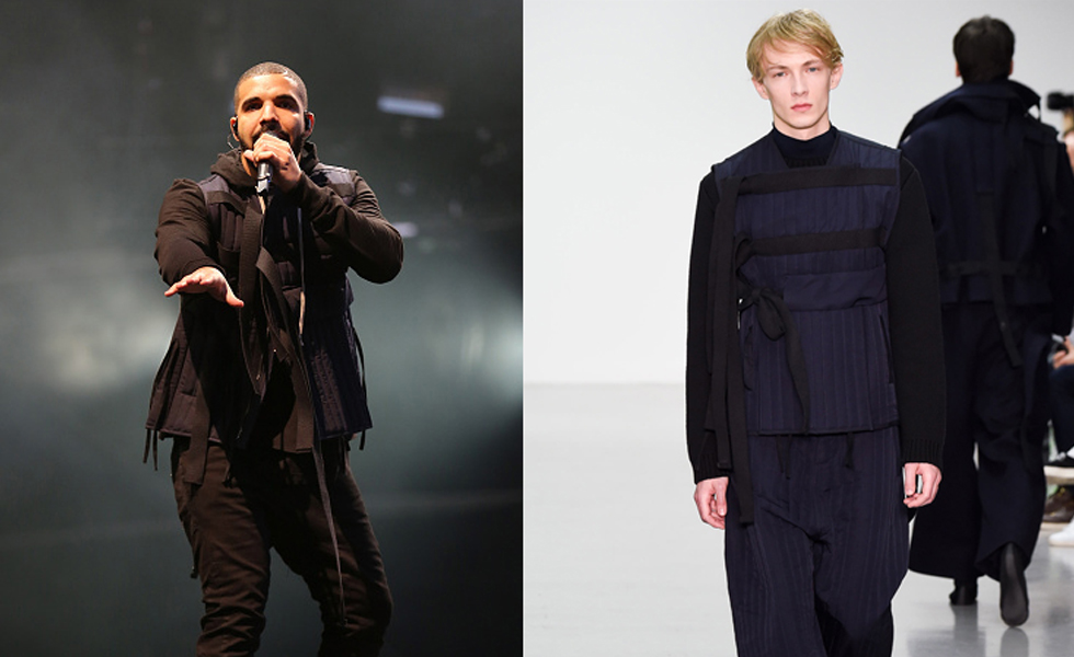 Spotted: Drake wears Craig Green at Wireless Festival 2015