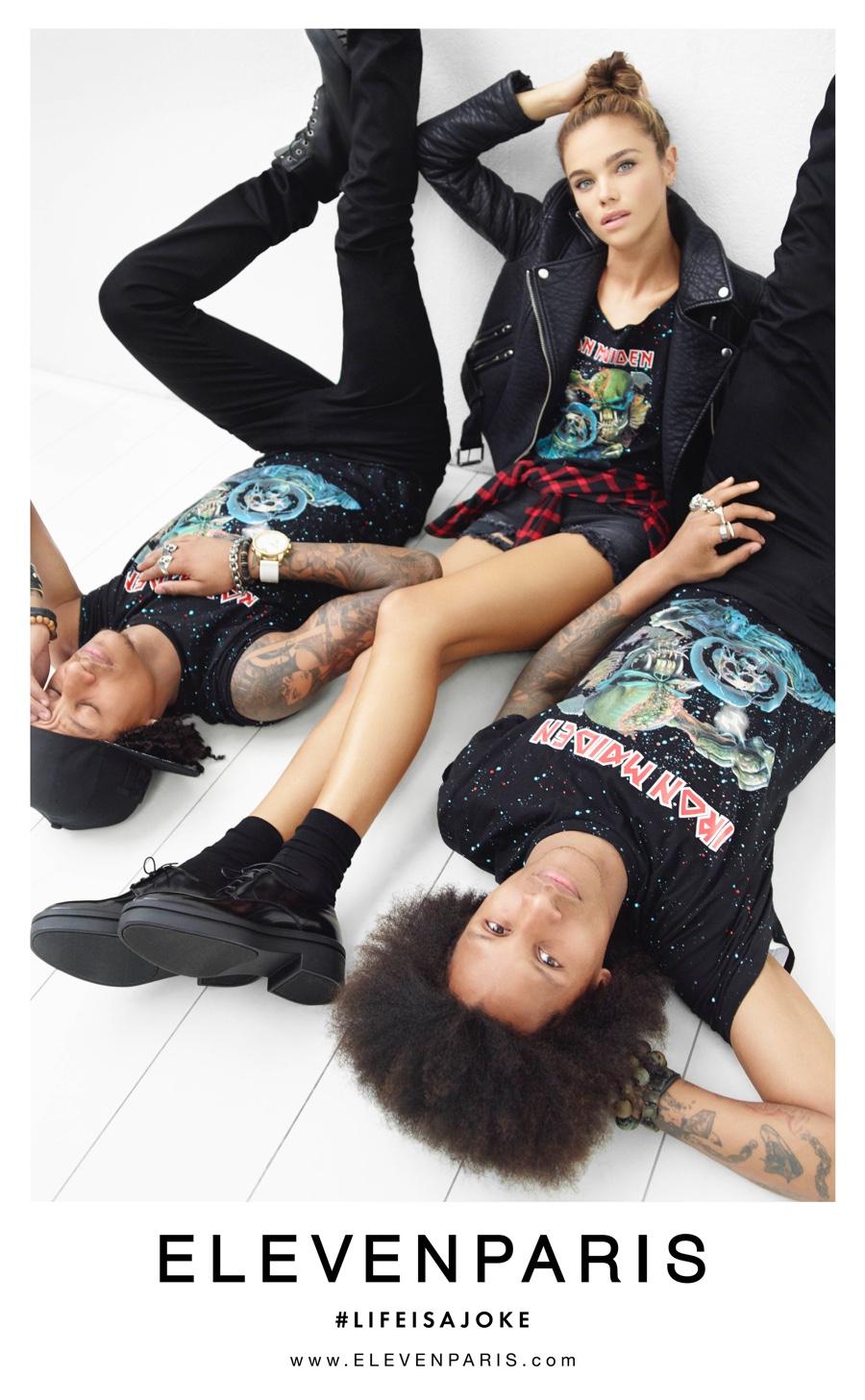 Eleven Paris x Les Twins for Fall/Winter 2015 Campaign