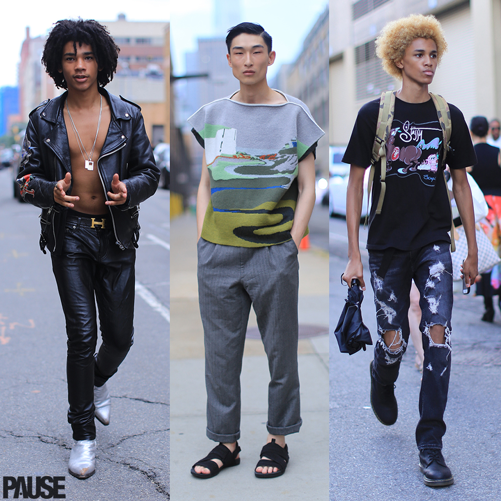 Street Style Shots: New York Fashion Week Men's Day 2