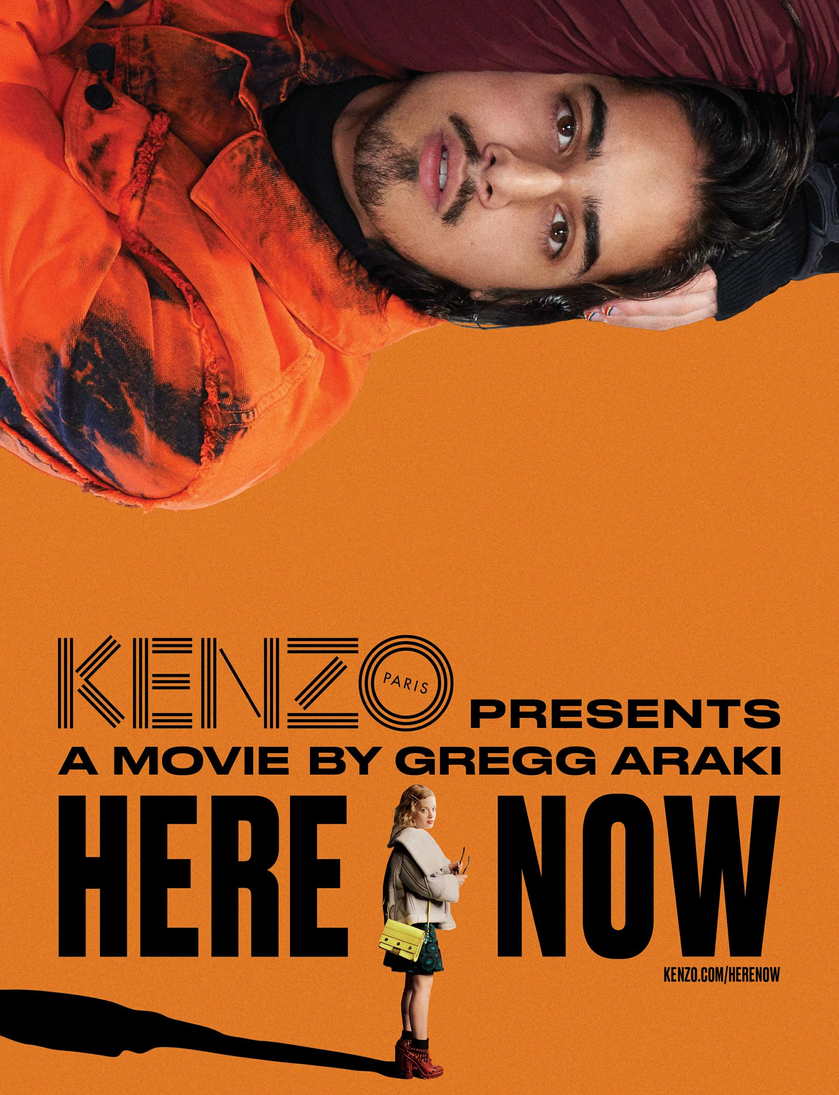 "KENZO Presents ""Here Now"" Movie By Gregg Araki"