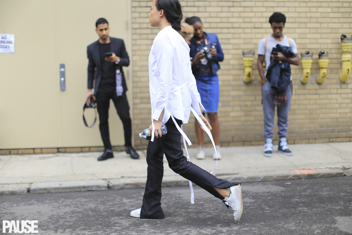 Street Style Shots: New York Fashion Week Men's Day 3 + 4