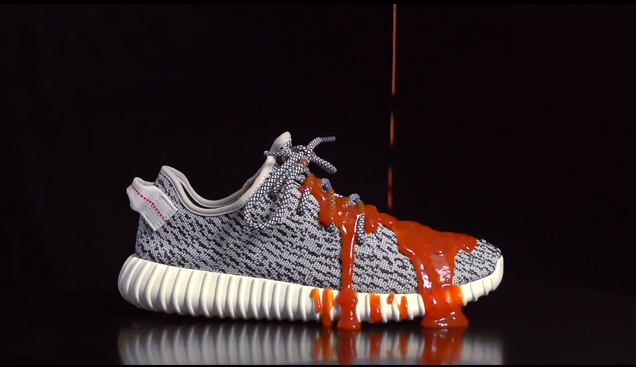 adidas Yeezy 350 Boost x Crep Protect against Ketchup