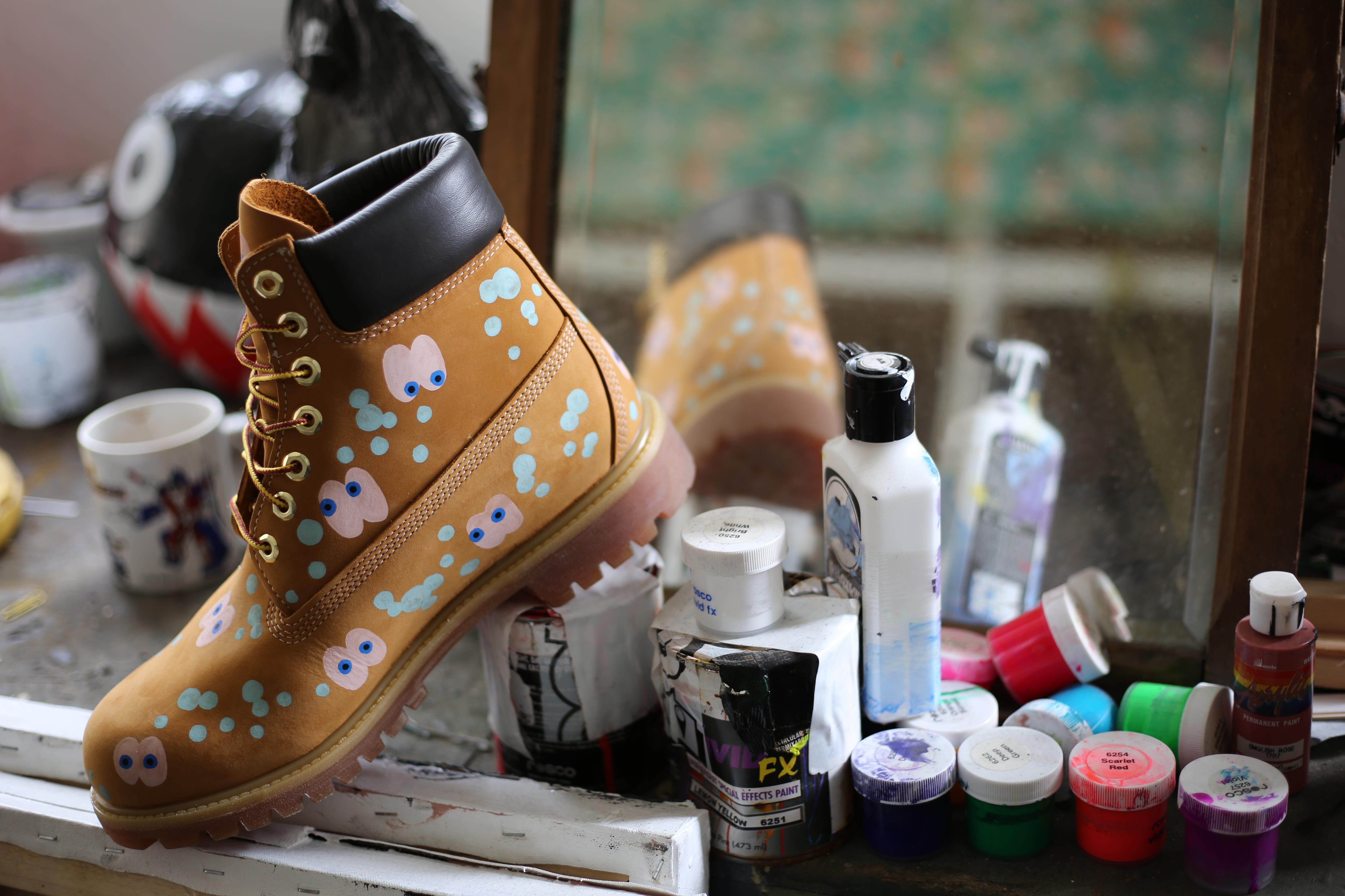Timberland Opens Customisation Pop Up at JD Flapship Store