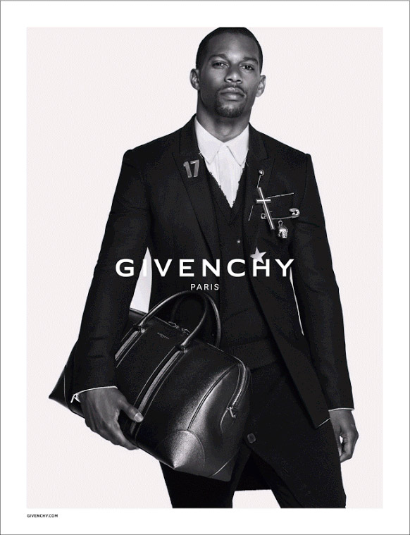 Victor Cruz for Givenchy Fall/Winter 2015 Campaign