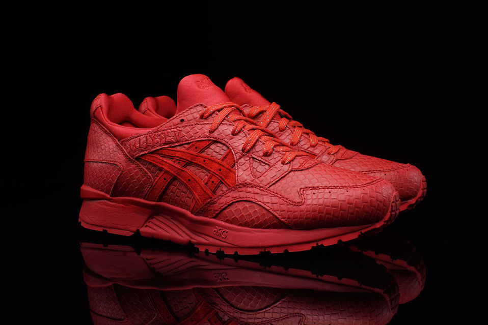 ASICS launches Red Mamba GEL-Lyte V