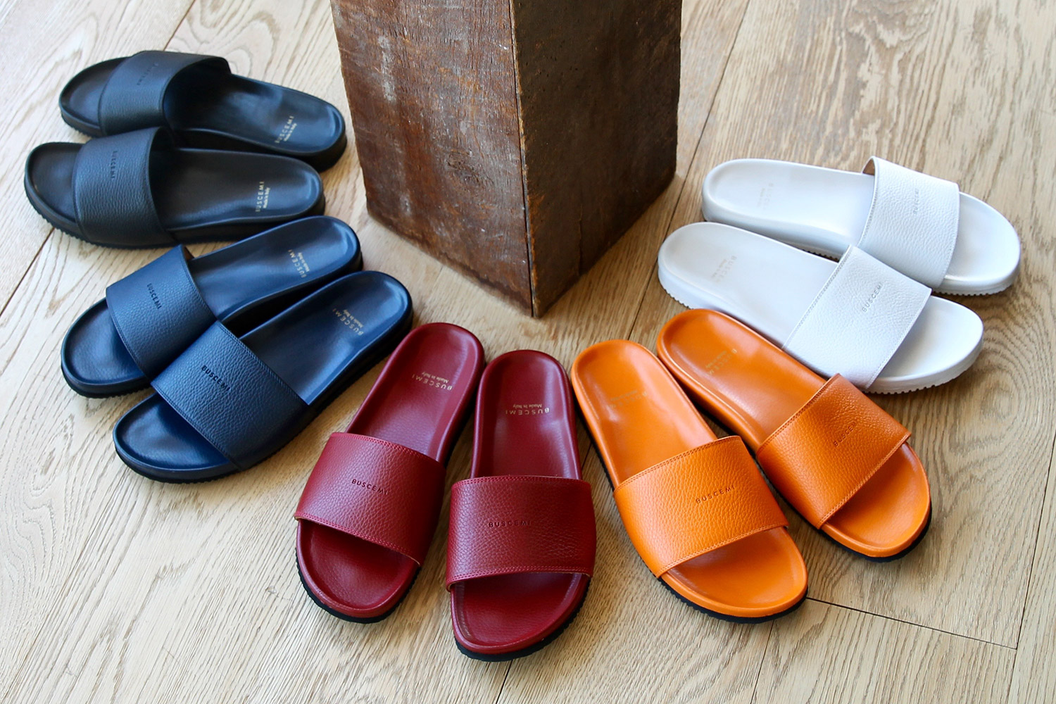 Buscemi Introduce Summer Sandals