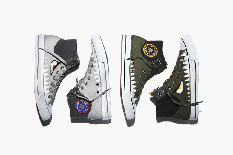 Converse Announces MA-1 Zip 'Shark Pack'