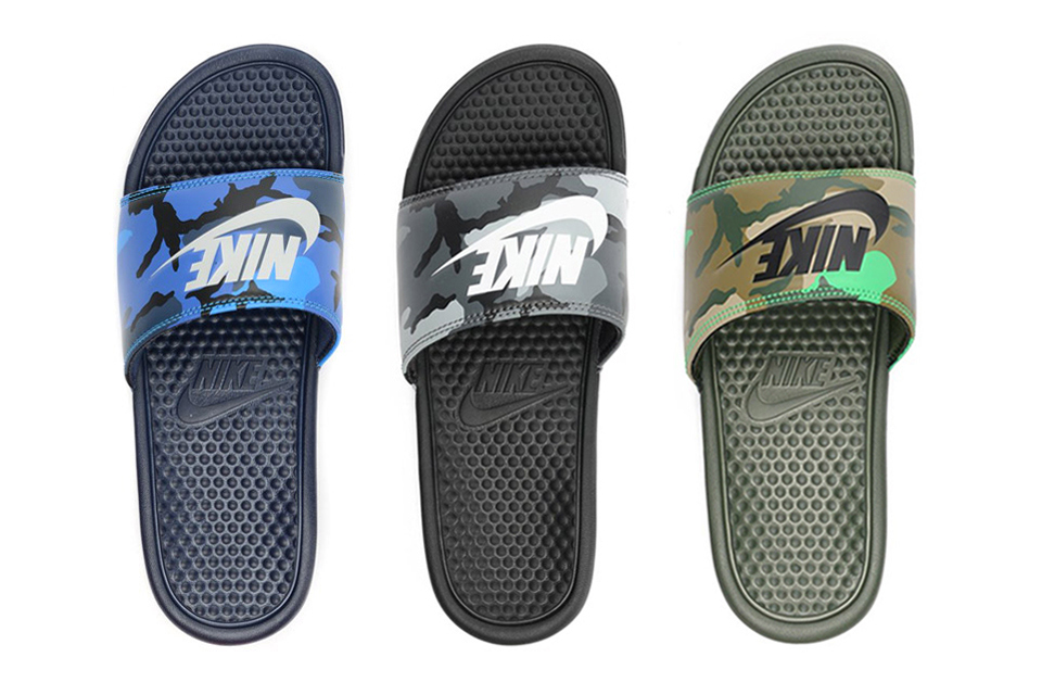 "Nike Benassi JDI ""Camo Pack"""