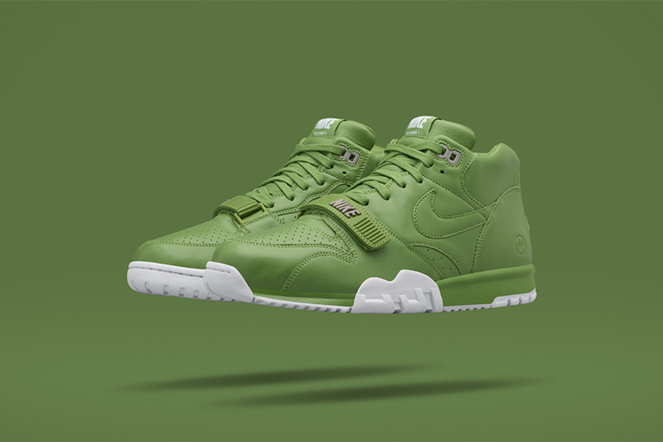 "NikeLab x fragment design ""Wimbledon"" NikeCourt Air Trainer 1 Mid Green"