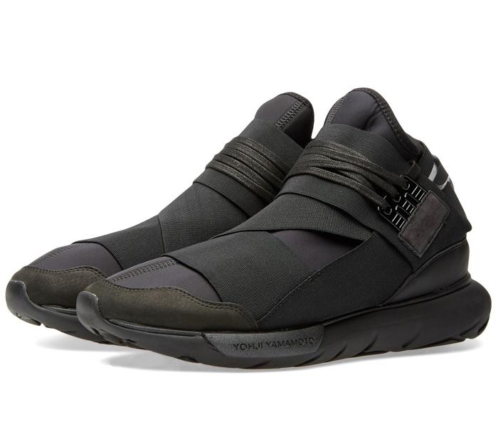 Sneaker Watch: Y-3 All-Black Qasa High Returns