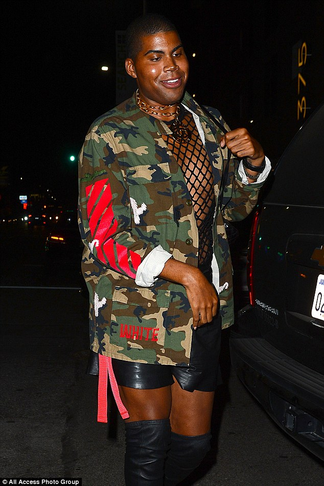 SPOTTED: EJ Johnson in OFF-WHITE