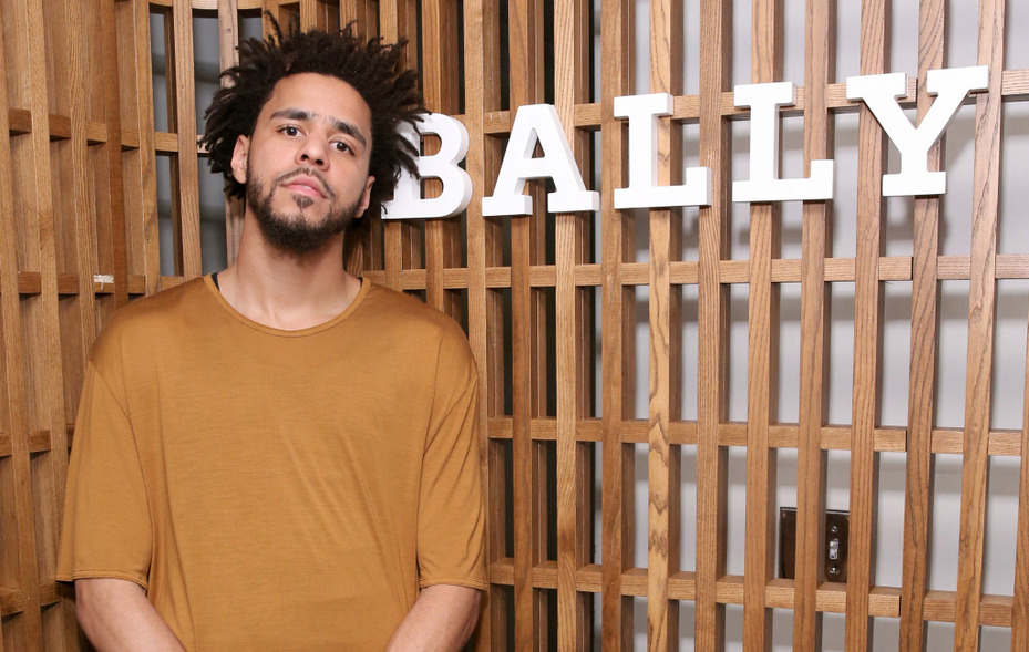 "Spotted: J. Cole in Bally Hiker Boots at ""Off the Grid"" Short Film New York Premiere"
