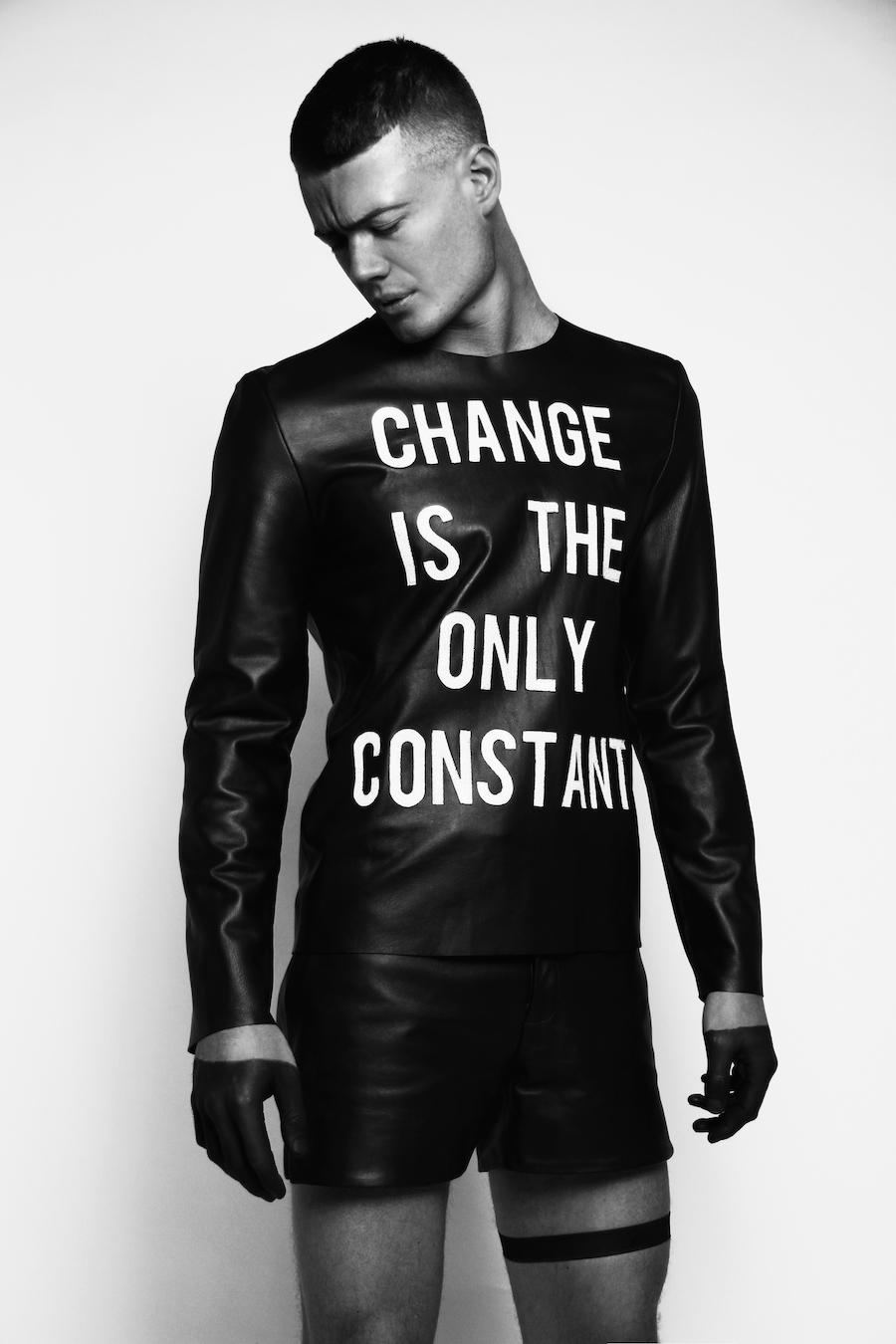 Benjamin Bertram's Upcoming Collection 'Change Is The New Constant'