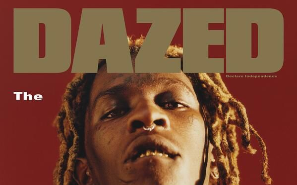 Young Thug Wears a Gucci Dress on 'Dazed' Cover