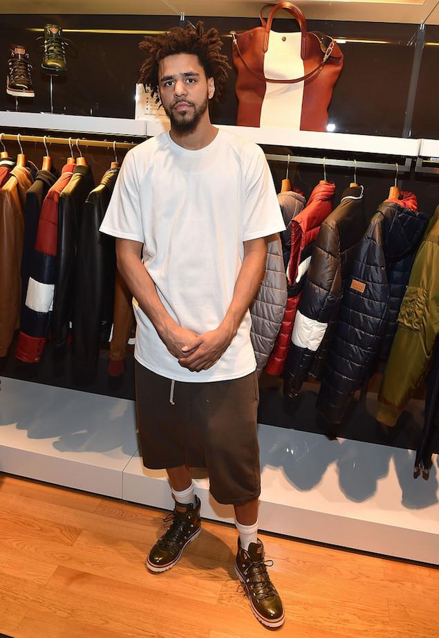 Spotted: J. Cole Wears Bally JC Hiker Boots in Atlanta