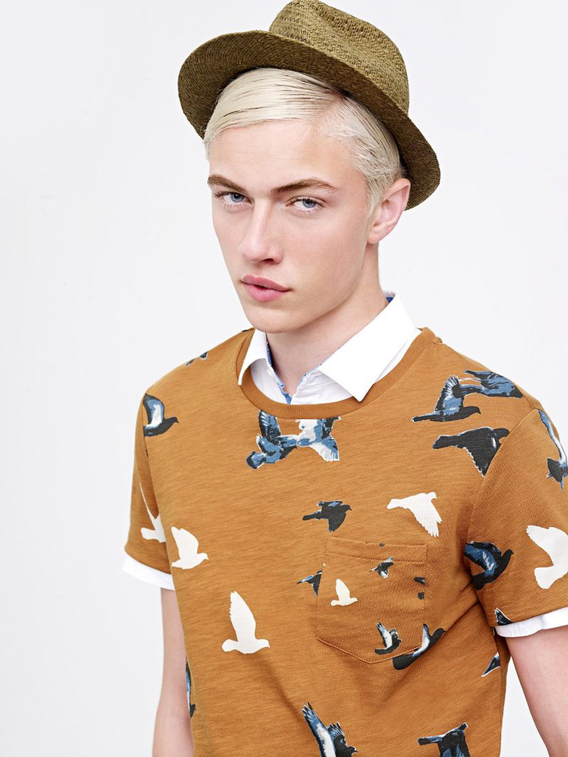 Selected Summer 2015 Campaign featuring Lucky Blue Smith
