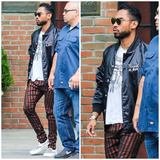 Spotted: Miguel Wearing Haider Ackermann