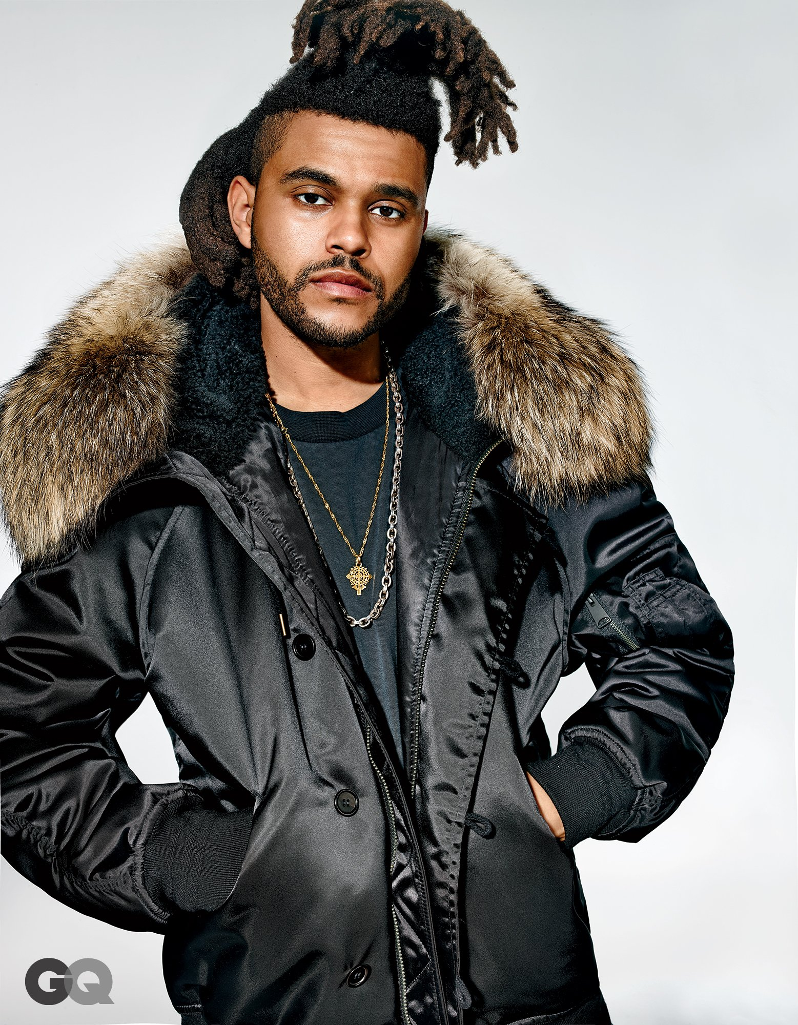 The Weeknd Teases Kanye West's Yeezy Season 1 Collection in GQ