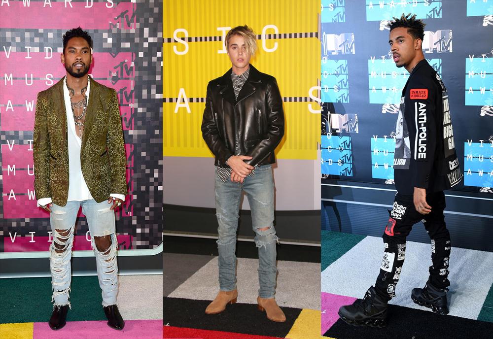 Red Carpet: The MTV VMAs 2015 Men's Style