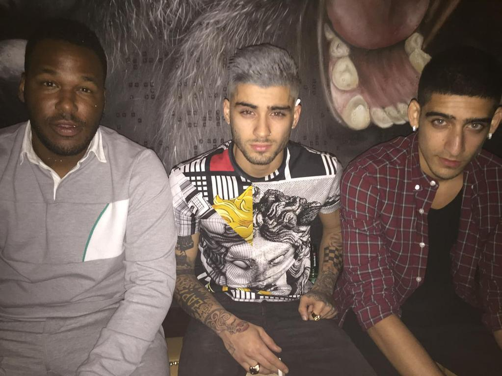 Spotted: Zayn Malik Dyes His Hair Grey and Rocks Versus Versace