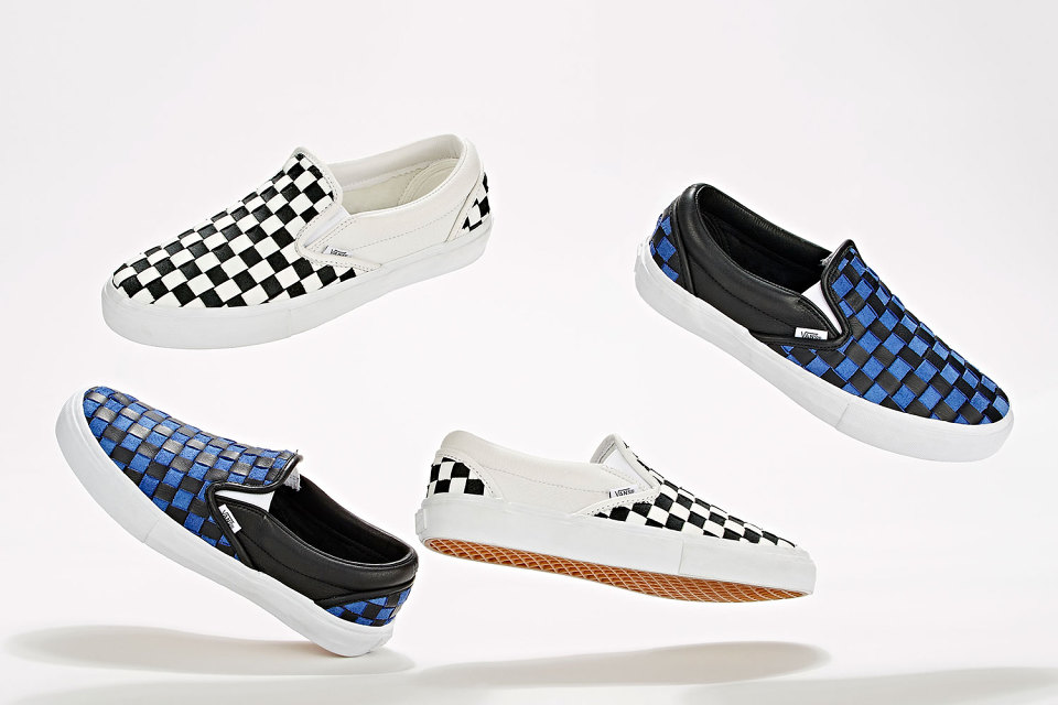 Barneys New York Teams Up with Vans for Upscale Checkerboard Slip-Ons