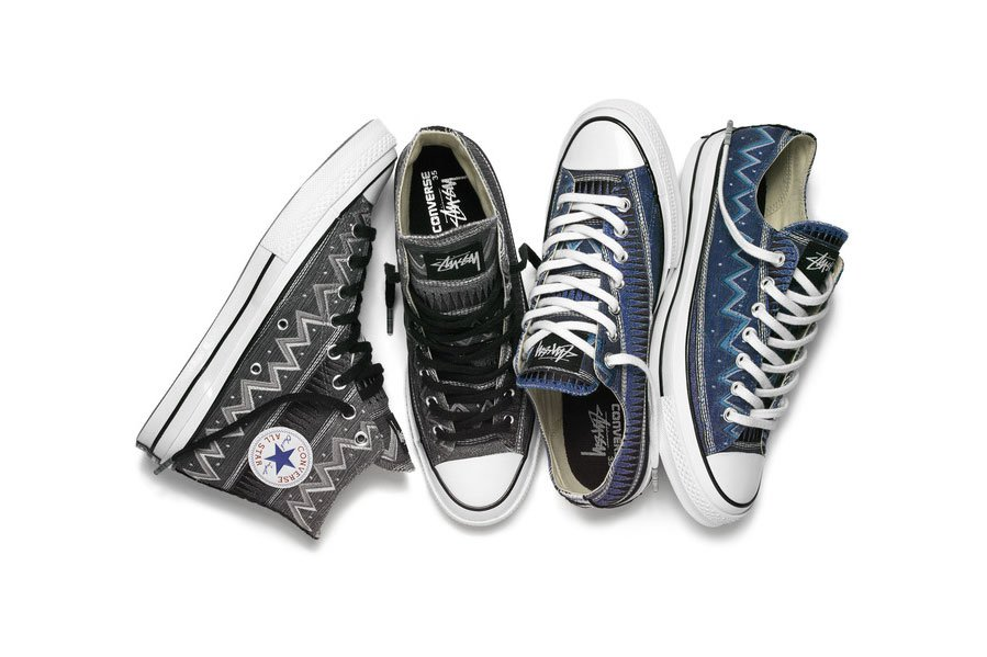 Stüssy x Converse Chuck Taylor All Star '70 Pack
