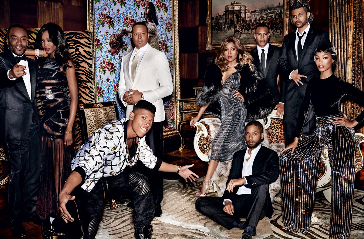 Empire Cast hits September Issue of Vogue Shoot