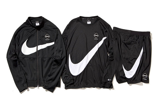 FCRB Teases Its Fall 2015 Collection With Swoosh Capsule