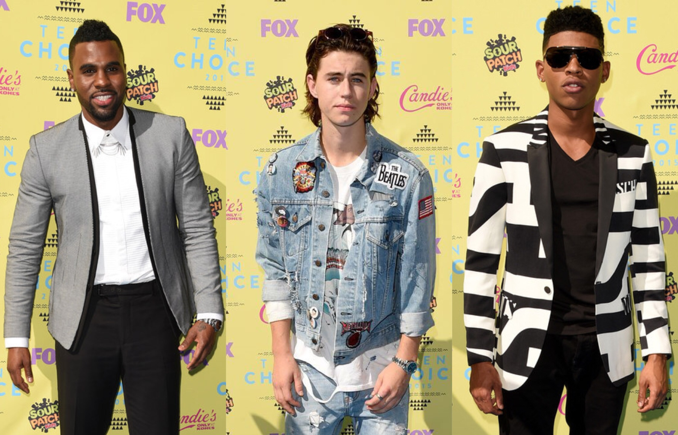 Red Carpet: The TCA 2015 Men's style