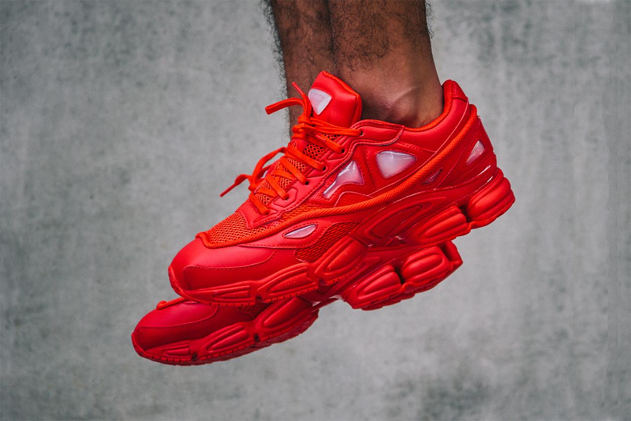"adidas Consortium x Raf Simons Ozweego 2 ""Red"""