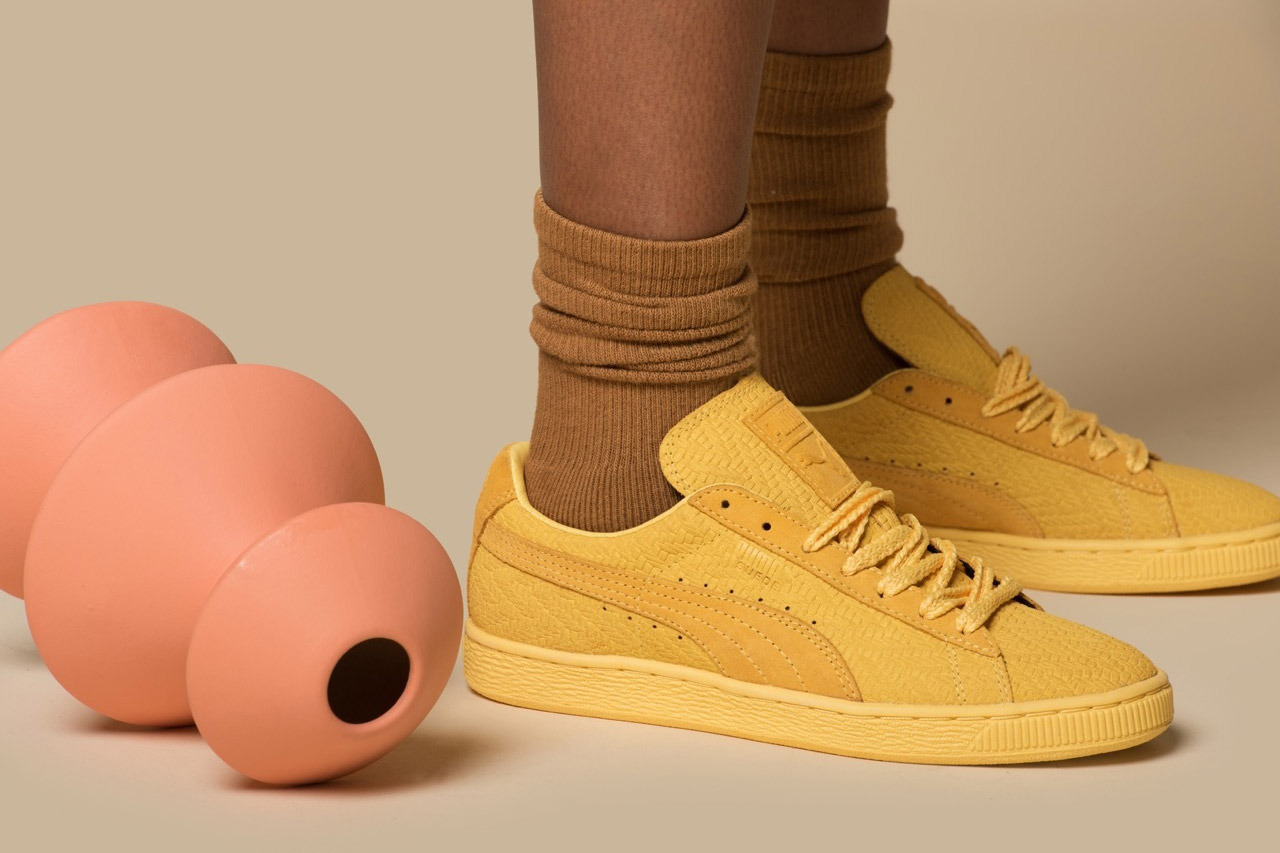 Puma x Solange: Suede Sneakers Limited Edition