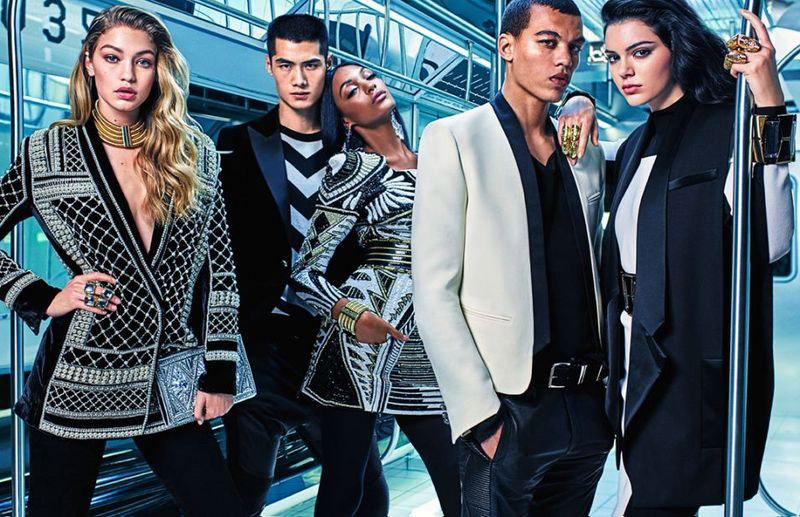 Balmain x H&M 2015 Campaign