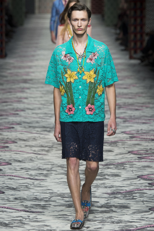 MFW: Gucci Spring/Summer 2016 Menswear