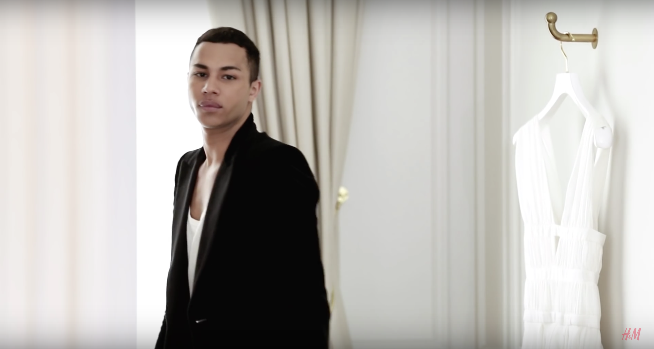 Olivier Rousteing talks Balmain x H&M Collaboration