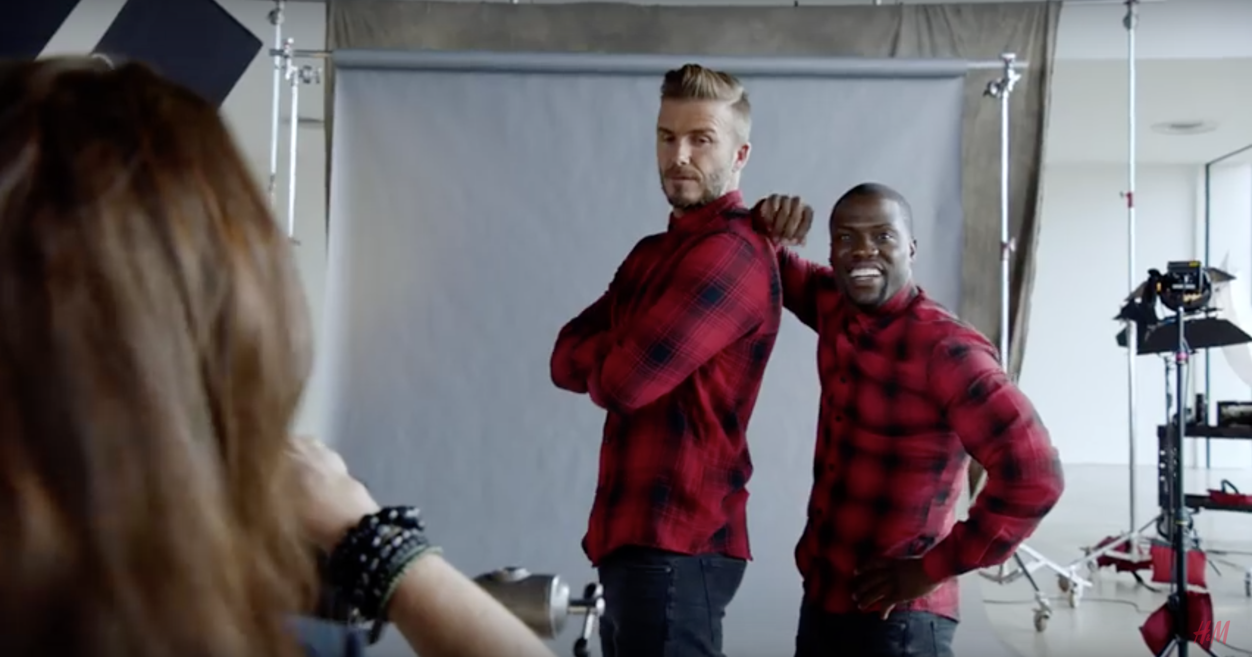 David Beckham and Kevin Hart H&M Modern Essentials Campaign