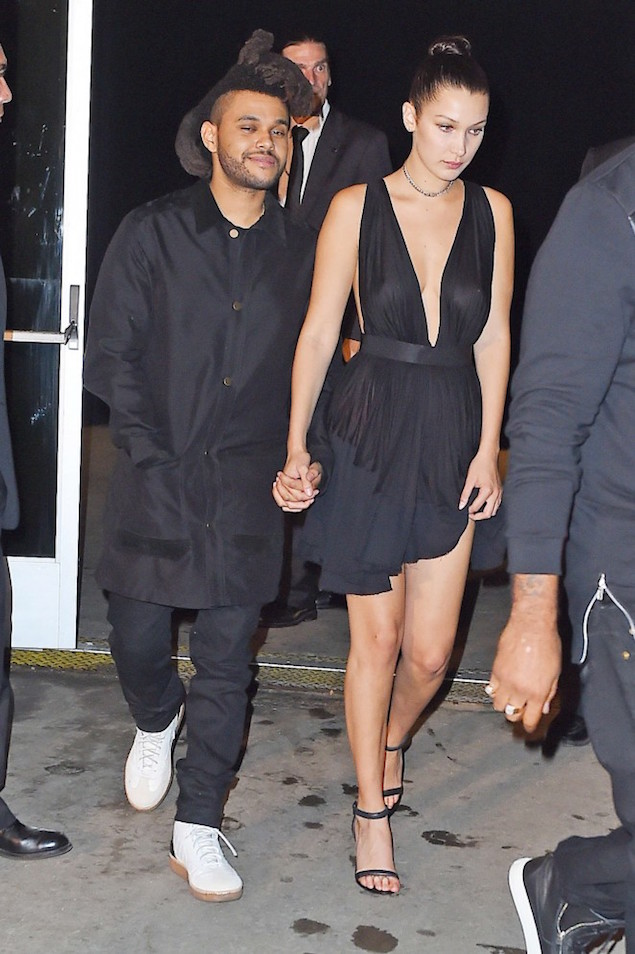 Spotted: The Weeknd in Alexander Wang at NYFW