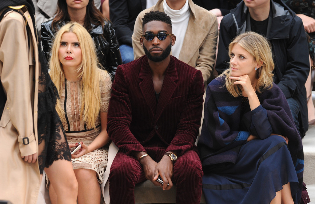 Spotted: Tinie Tempah in Burberry Suit and Shoes
