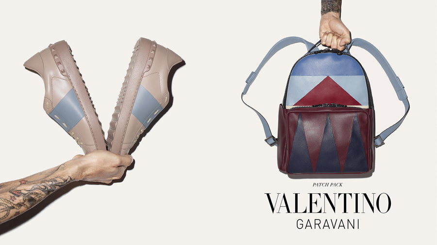 Valentino Fall/Winter 2015 Men's Accessories Campaign