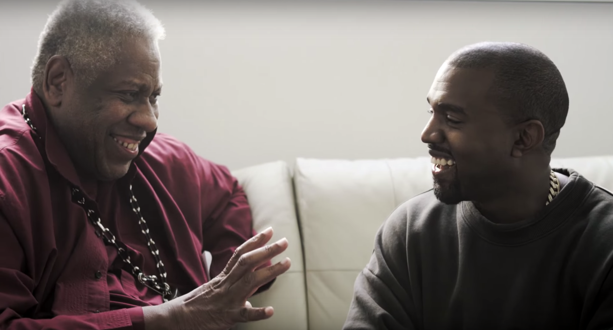 NYFW: Andre Leon Talley & Kanye West Open up About Yeezy
