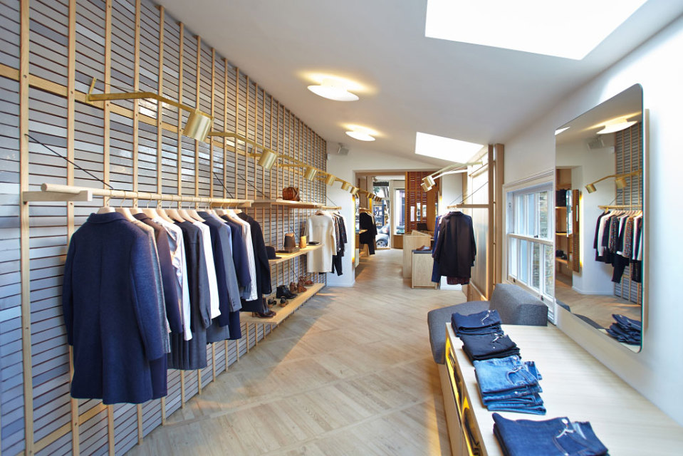 A.P.C. Launches New Store in Notting Hill Gate, London