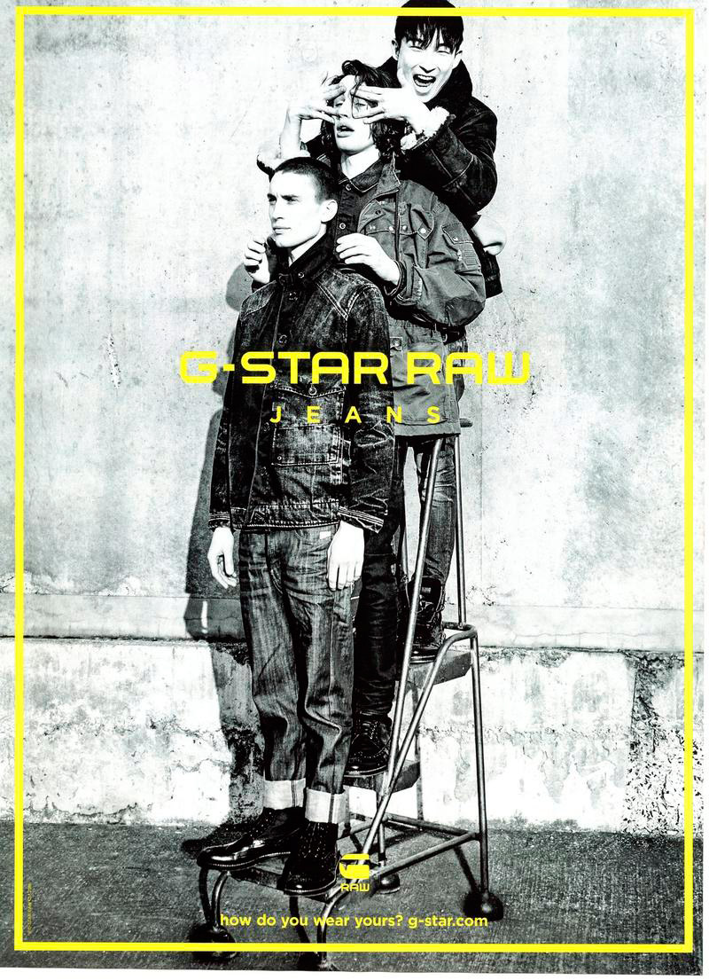 G-Star RAW Fall/Winter 2015 Campaign Preview