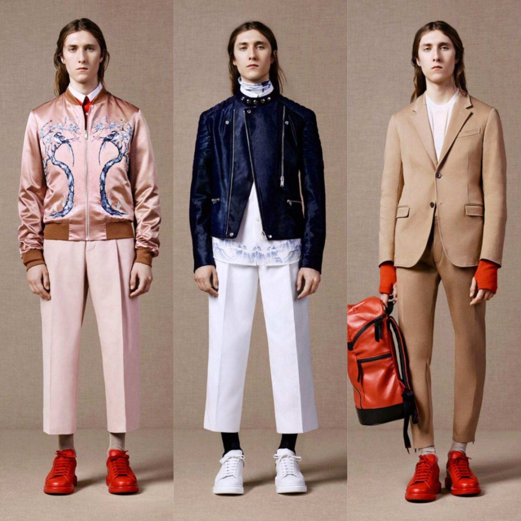 Alexander McQueen Pre-Spring/Summer 2016 Lookbook
