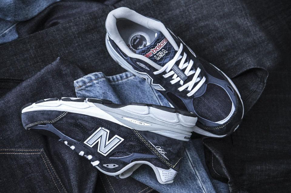 New Balance All-Over Denim M990 Sneaker